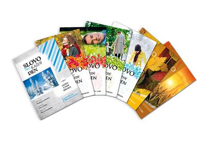 obálky vydaných časopisů Slovo pro každý den